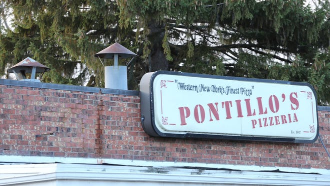 Monroe County Sheriff's deputies found a man stuck in a vent early Friday morning, in what they say was an attempted break-in of Pontillo's Pizzeria on Penfield Road.