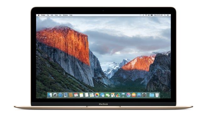 Mac OS X El Capitan home screen