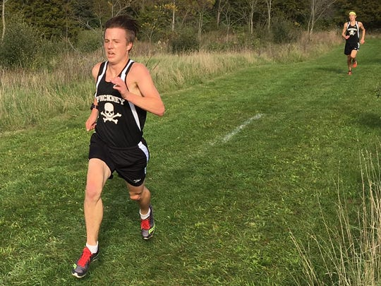 Pinckney's streak of 13 straight state cross country meets ended, but Ryan Talbott placed 10th at regionals to qualify individually.