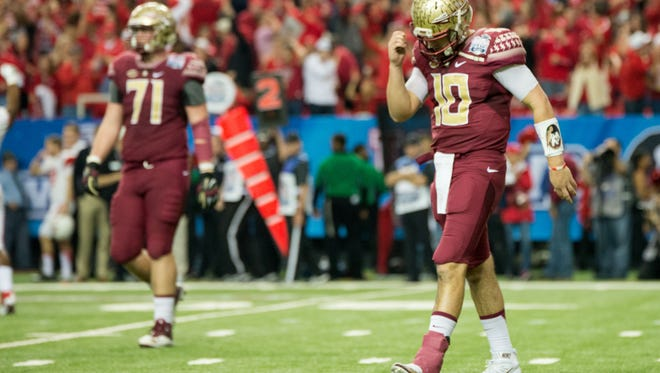 Florida State fell to Houston 38-24 in the Chick-Fil-A Peach Bowl.