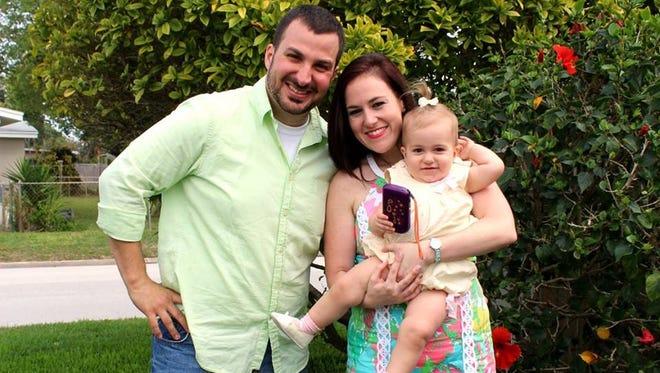 Jessica Saggio and family.