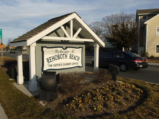rehoboth welcome sign