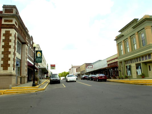 downtown Leesville