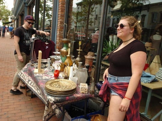 The merchants of downtown Red Bank hosted the 62nd Annual Red Bank Sidewalk Sales .