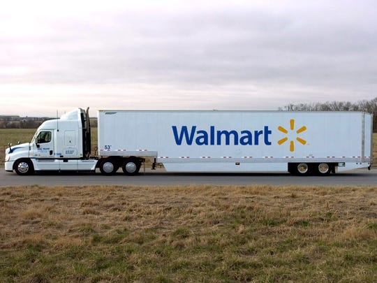 Walmart has been adding experienced truck drivers.
