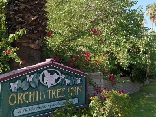 The Orchid Tree Inn in downtown Palm Springs in this file photo taken in October 2005.