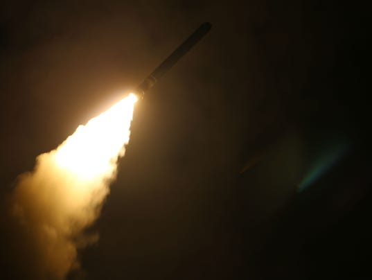 Tomahawk missile.