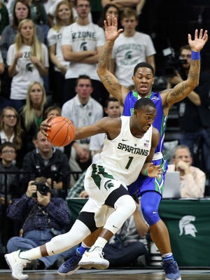 MSU is hoping that freshman Joshua Langford develops his game similarly to former star Denzel Valentine.