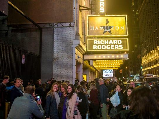 """""""Hamilton"""" is a bona fide pop culture phenomenon. With"""