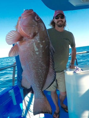 Red grouper season closed early - Wednesday - for the South Atlantic federal waters. Harvest is prohibited until May 1, 2019.