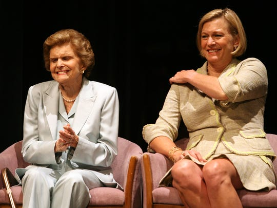 Betty Ford and Susan Ford Bales