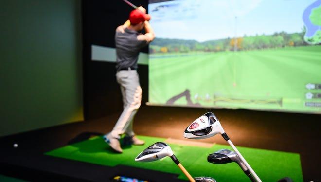 XGolf Louisiana offers indoor golf experience.