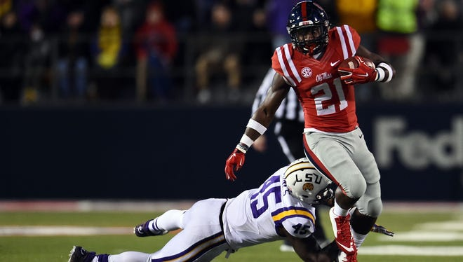 Ole Miss running back Akeem Judd will take on added responsibility with the team's rushing attack.