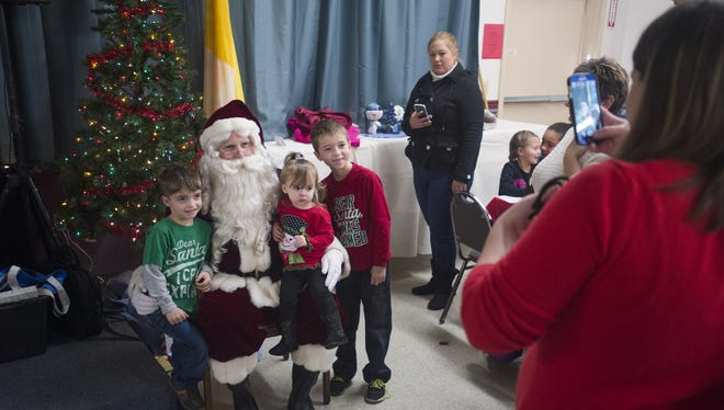 Santa, shown during Animal Adventure's 2015 Jungle Bells, will be there again this year.