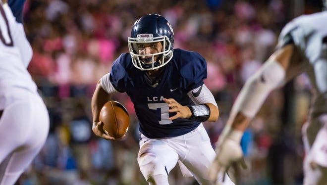 LCA quarterback Zachary Clement is the Class 1A Offensive Most Valuable Player after leading the Knights to a second straight Division IV state championship.