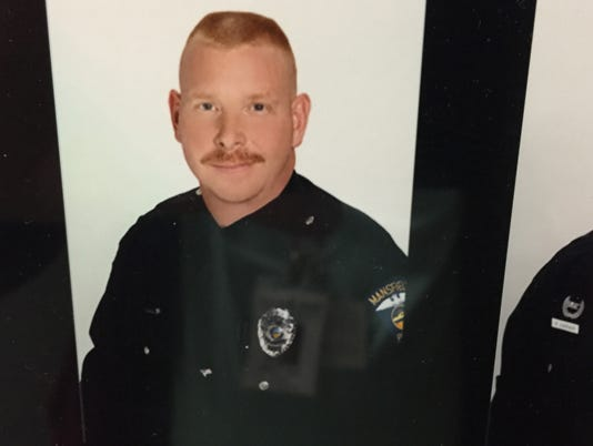Mansfield police Officer Mike Garn