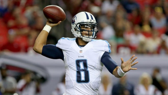 Marcus Mariota turned the ball over twice in his preseason debut.