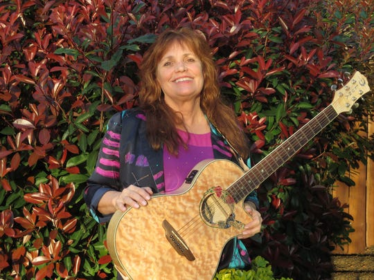 "Singer and songwriter Janie Seeger will perform with her band ""Kickin' It."""