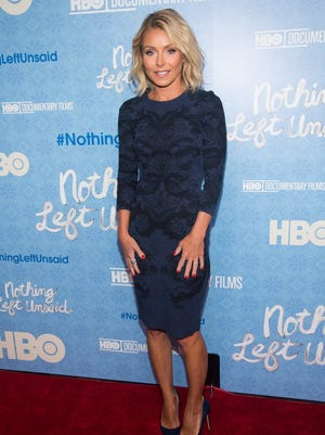 Kelly Ripa, shown here in a 2016 photo, is part of this year's crop of the New Jersey Hall of Fame.