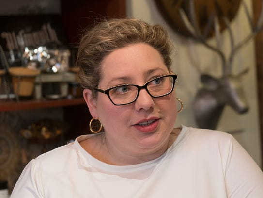Lindsey Burns, owner of Bohemian Home, describes herself