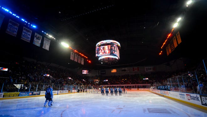 The Milwaukee Admirals moved back into the UW-Milwaukee Panther Arena four years ago.