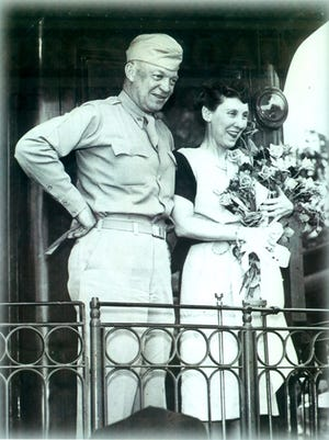 Dwight D. Eisenhower, one of the most beloved presidents in U.S. history, visited Richmond on June 24, 1945.
