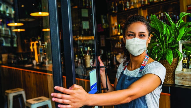 Face masks are not currently required in Barnwell County's stores, restaurants and public buildings, but that could change if local governing bodies pass ordinances. Currently, masks are just encouraged.