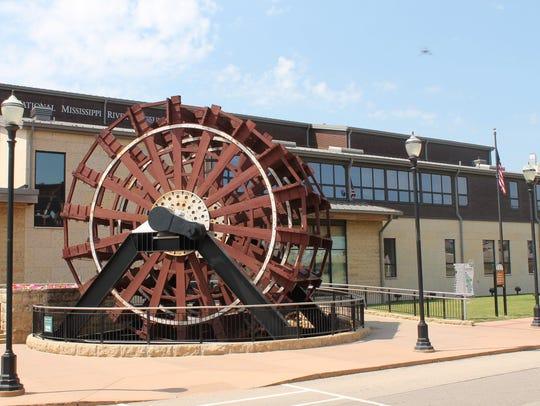 National Mississippi River Museum and Aquarium in Dubuque.