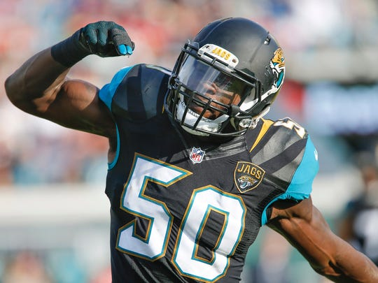 Jacksonville Jaguars outside linebacker Telvin Smith has been a consistent cog on defense since his team selected him in the 2014 Draft.