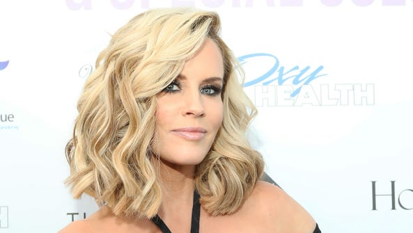 Jenny McCarthy at an event in St. Charles, Ill. in