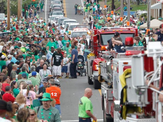 Thousands of people attended the 50th Irish Day Celebration