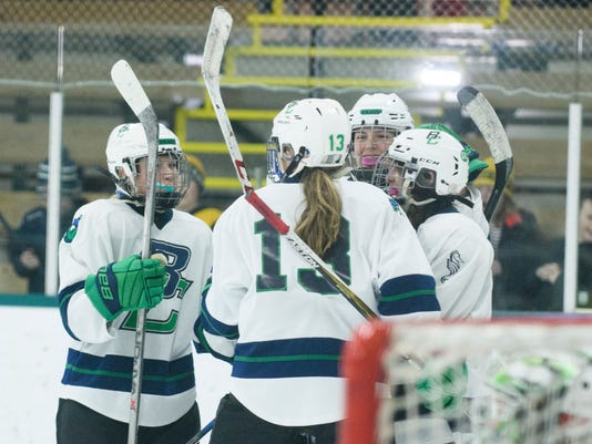 Northefield vs. Burlington/Colchseter Girls Hockey 01/27/18