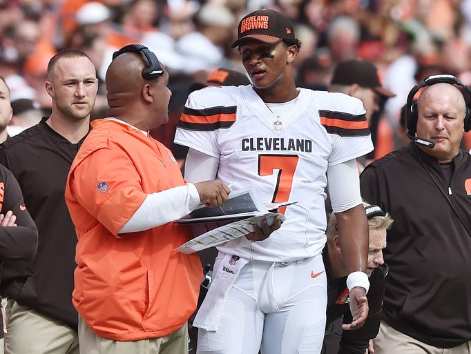 32. Browns (32): Inconsistency inevitable with rookies.