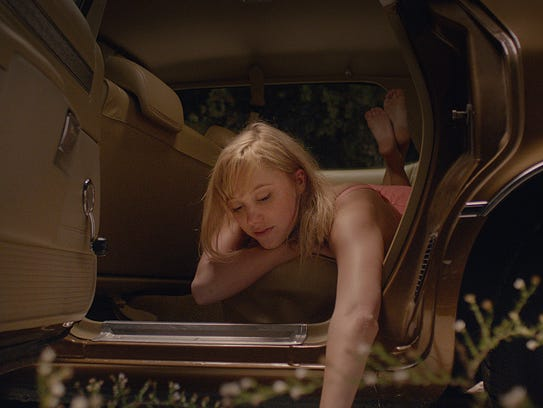 Maika Monroe in 'It Follows.'