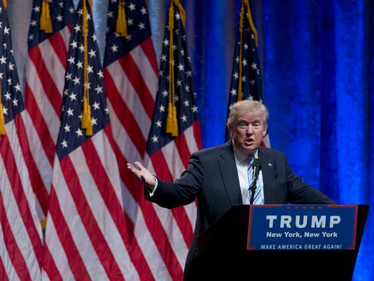 AP CAMPAIGN 2016 TRUMP A ELN USA NY
