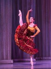 Dancer Katie Vasilopoulos, Spanish Dance 2016.