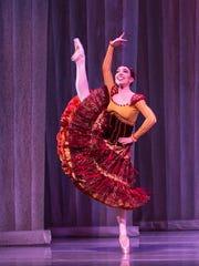 Dancer Katie Vasilopoulos, Spanish Dance 2016.