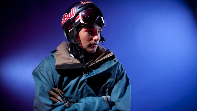 Nick Goepper on Oct. 1, 2013, before the U.S.  freeski performance in the Sochi Olympics propelled him to fame.