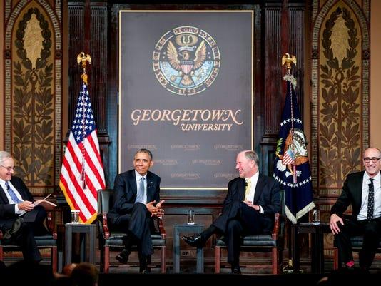 Barack Obama, E. J. Dionne, Robert Putnam, Arthur Brooks