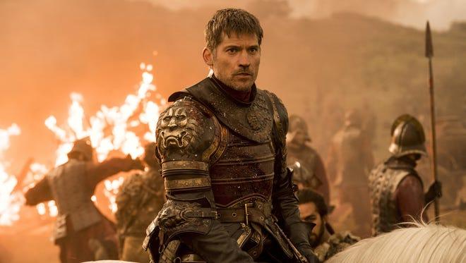 Nikolaj Coster-Waldau as Jaime Lannister in 'Game of Thrones' that aired Aug. 6, 2017.