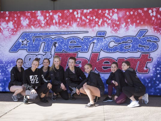 America's Got Talent | contestants pose outside