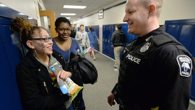 For police officers, building trust is a key part of their job. But the image police project in schools doesn't always mirror reality.