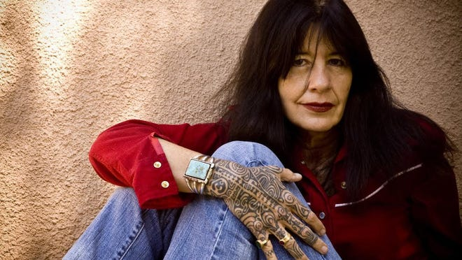 Listen to an on-stage interview with current United State Poet Laureate Joy Harjo this Tuesday at the Crest Theatre at Old School Square, as part of this year's Palm Beach Poetry Festival.