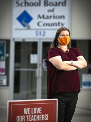 Vicki Treulieb, an English and theater teacher at Forest High School, hopes school will open three weeks later, on Aug. 31, because of COVID-19. Cases are escalating in Marion County.