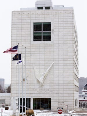 The UAW-Ford proposed purchase of the Veterans Memorial Building on West Jefferson also would mean the property would not generate tax revenue for the city.