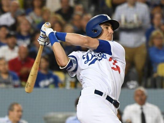 USP MLB: SAN FRANCISCO GIANTS AT LOS ANGELES DODGE S BBN LAD SF USA CA
