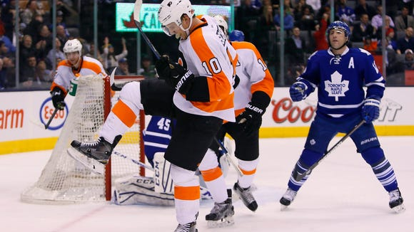Brayden Schenn and the Flyers are hoping to take advantage of another team that's not in the playoff picture.