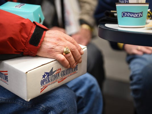 Cinnabon Hugs from Home Care Packages