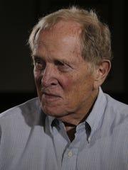 Steve Junker, a member of the 1957 Lions football team,