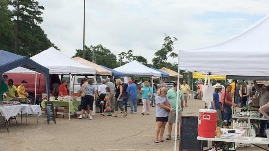 Ruston Farmers Market opens Saturday with fresh produced, baked goods, canned items and more.